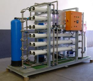 Reverse Osmosis (RO) Water Treatment Plants